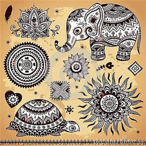 elephant tattoo paisley 91 best elephant lotus tattoo ideas images on pinterest