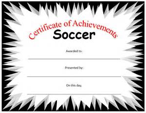 free soccer certificate templates pics for gt football certificate template