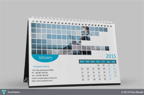 design your calendar 2015 free 2015 corporate desk calendar template psd design