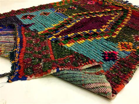 Berber Rugs by Moroccan Berber Rug Boucherouite 190 X 125 Cm