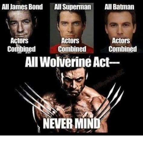 Actor Memes - all james bond all superman ani batman actors actors