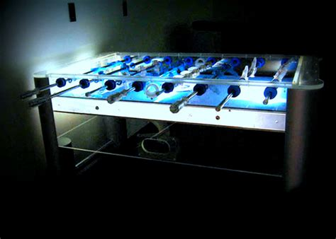 Lighted Table by Foosball Table Lighted Acrylic Agr Las Vegas