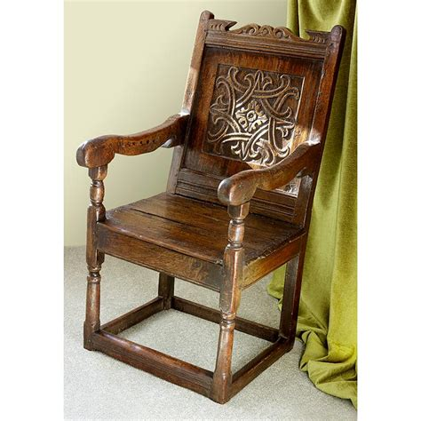 Wainscot Chairs For Sale by Mid 17th Century Carved Oak Wainscot Chair For Sale At 1stdibs