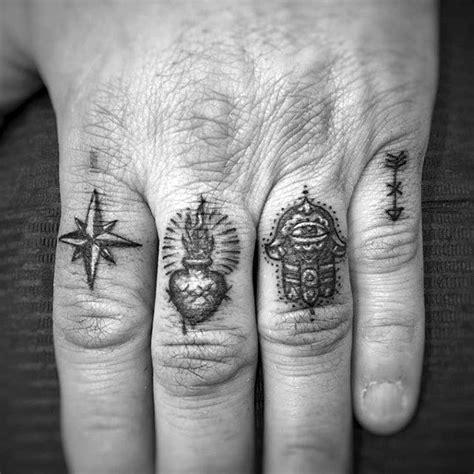 tattoo on finger for man 58 best finger tattoos for men images on pinterest