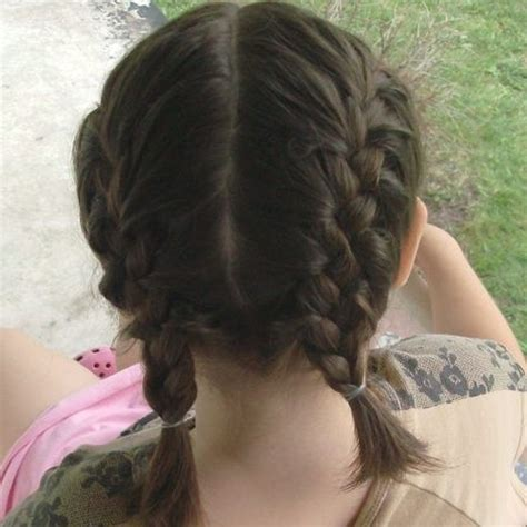 hairstyle with 2 shoulder braids best 25 two french braids ideas on pinterest two dutch