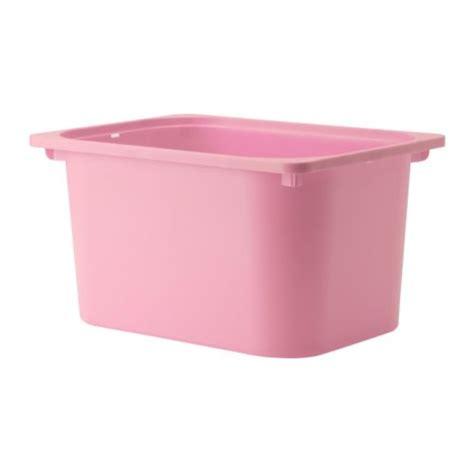 ikea plastic bins trofast storage box pink 16 1 2x11 3 4x9 quot ikea