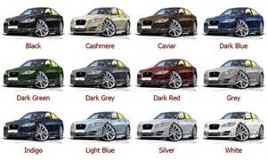 Jaguar Xf Colours How To Draw A Jaguar Xf Apps Directories