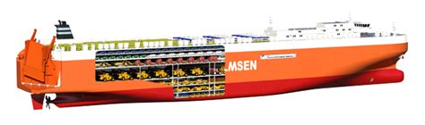 biggest roro vessel in the world world s largest car carrier the roro mv t 248 nsberg