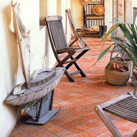 Terracotta Fliesen Außen