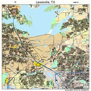 map of lewisville lewisville map 4842508