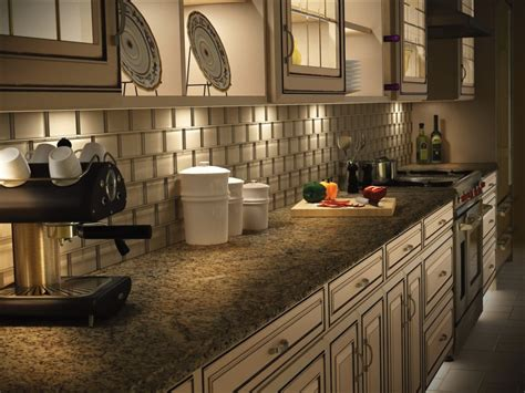 led under cabinet lighting spaces traditional with better lighting design makes your kitchen a more