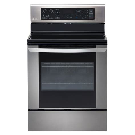 stove oven small electric ovens lg electronics 6 3 cu ft electric range with easyclean convection oven in stainless steel