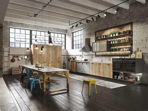 linear kitchen loft linear kitchen sistema collection by snaidero design