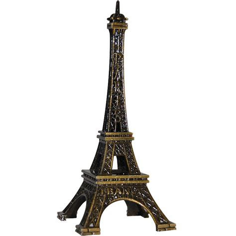 Eiffel Mini eiffel tower mini replica antique gold 4 quot h