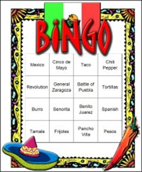 mexican themed games mexican fiesta cinco de mayo scavenger hunt lists collection