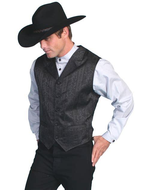 s scully rangewear classic floral vest rw112 blkjc