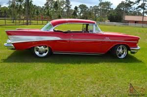 1957 Chevrolet Belair 2 Door Hardtop 1957 Chevy Bel Air 2 Door Hardtop 502 Efi Frame