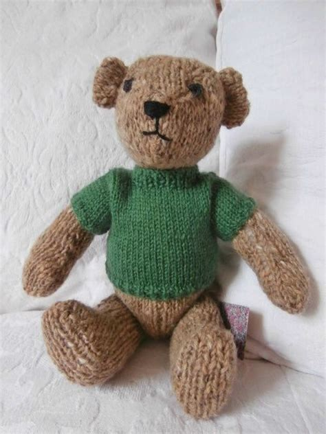 knit sweater pattern for teddy bear 17 best images about teddy bear on pinterest knit