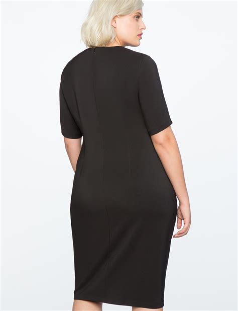 Twist Front Dress by Twist Front Sheath Dress S Plus Size Dresses Eloquii