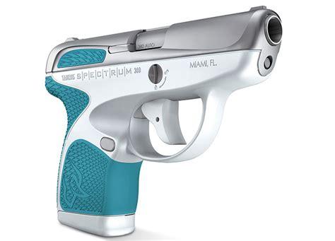 colored handguns taurus spectrum colorful new 380 pistols for 2017
