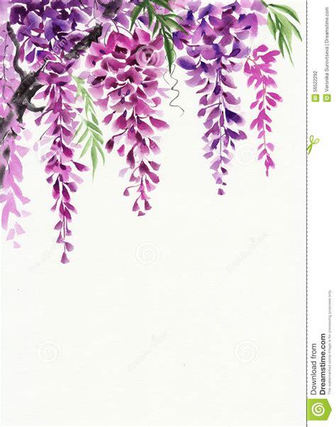 fiore clipart fiore di glicine illustrazione di stock illustrazione di