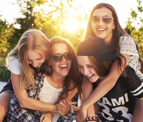 group teen girls laughing finding your people
