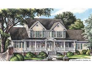 house plans farmhouse eplans farmhouse house plan spacious front and rear porches 2521 square and 4 bedrooms
