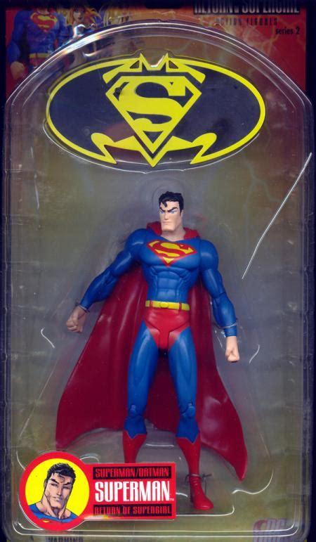 Mainan Superman Supergirl Set 2 Figure superman batman series 2 return supergirl superman