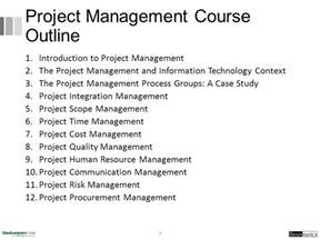 Pmp Content Outline by 4 Project Integration Management Ppt