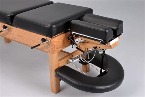 swing away table 300 stationary chiropractic table with abdominal swing away