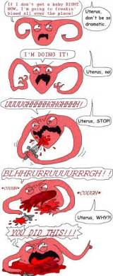 Funny Period Memes - uterus period pain meme google search lol pinterest