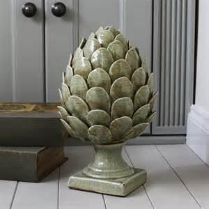 Home Interiors Picture Frames Large Green Ceramic Artichoke Marquis Amp Dawe