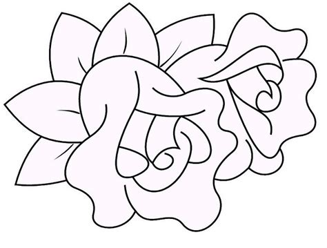 imagenes de rosas faciles mi colecci 243 n de dibujos rosas para colorer