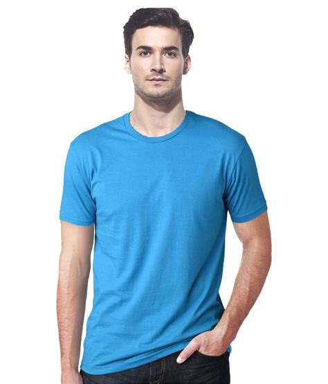 T Shirt I Am gallop blue cotton t shirt buy gallop blue cotton t