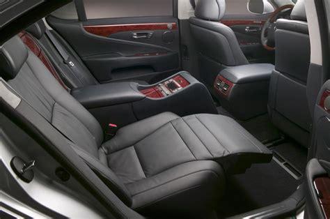 lexus ls 460 reclining back seat 2007 lexus ls460 and ls460l 2006 detroit auto show