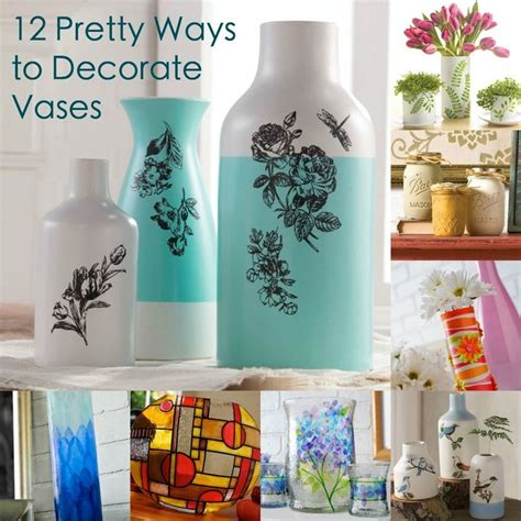 how to decorate vases with decor hacks grab a vase from the dollar store and use