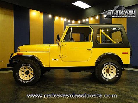 1976 Jeep Cj7 For Sale Jeeps For Sale Browse Classic Jeep Classified Ads