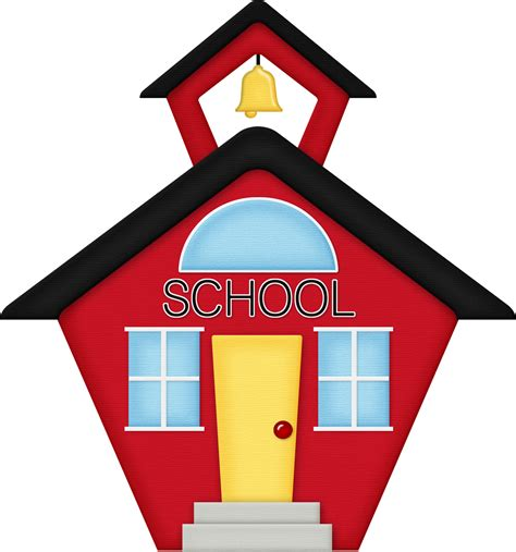 clipart school picture of schoolhouse clipart best