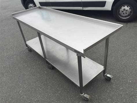 c table with wheels secondhand catering equipment catering equipment chester