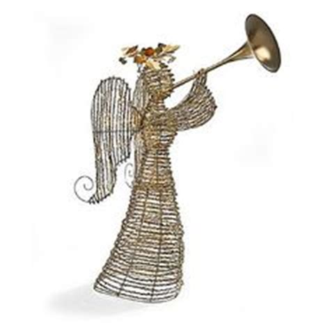 outdoor lighted with trumpet lighted rattan trumpet decor