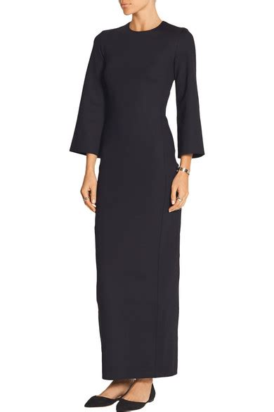 Benita Maxy the row benita scuba maxi dress net a porter