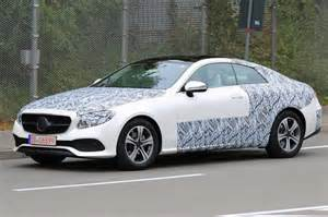 Mercedes E Class Coupe 2018 Mercedes E Class Coupe Seen With Partial Camo