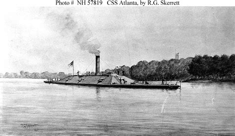 confederate ships css atlanta 1862 1863