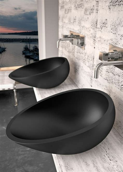 waschbecken bad schwarz waschbecken modern m 246 belideen
