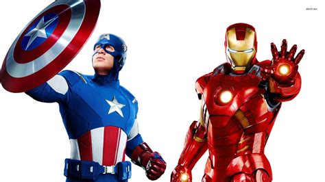 captain america vs ironman hd wallpaper 48239 captain america and iron man the avengers 1920x1080