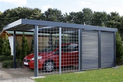 carport mit tor carports und garagen