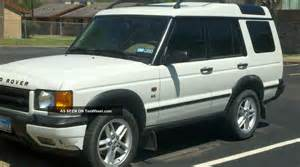 2002 land rover discovery series ii information and
