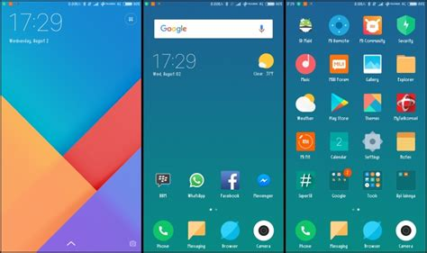 themes miui download download three amazing miui 9 themes to run on miui 8 here