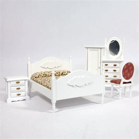 dolls house bedroom furniture white dolls house bedroom furniture set furniture df1537