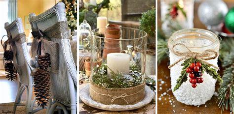 tavola natalizia immagini come decorare la tavola di natale in stile shabby chic